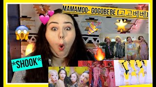 MAMAMOO - 고고베베(gogobebe) MV REACTION (plus Comeback Stage Live)