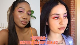 Euphoria Maddy Inspired Makeup #2 🍊
