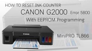 Canon ST4905 / G1000 G2000 G3000 Resetter - Reset Your Printer