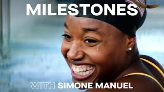 Simone Manuel Is Pushing Barriers & Breaking Records | MILESTONES