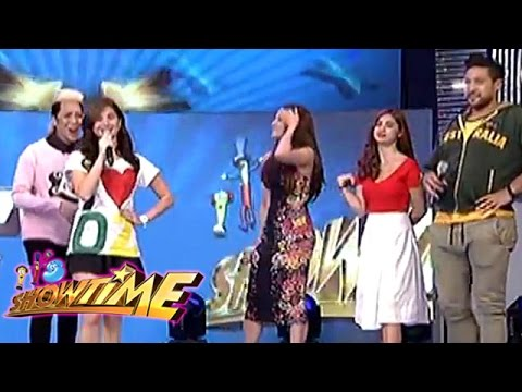Vice, Eruption, Anne, Karylle and Coleen answers the Q&A of MIss U