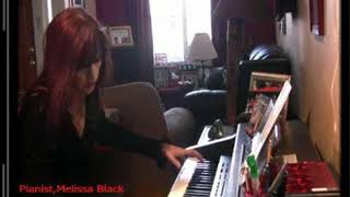 White Christmas Solo Classical Piano (By Ear) Melissa Black