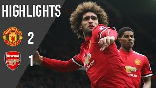 Manchester United 2-1 Arsenal | Highlights | Premier League