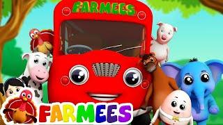 Rimas para niños   Canciones Infantiles   Videos educativos   Farmees Español   canciones de bebe