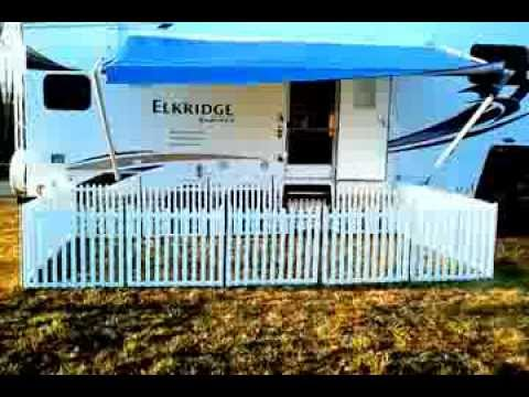 Portable Camping Fence Picketplayfencing Com Youtube