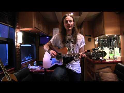 GUITARS STOLEN TESLA DAVE RUDE Epiphone Masterbilt Acoustic Guitar's