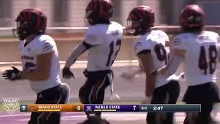 Idaho State Football at Weber State