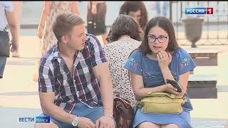 В Омск снова приходит жара