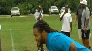Channing Crowder - Chaka Stars Foundation Football Camp