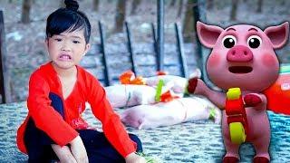 Ba Bà Đi Bán Lơn Con ✿ Bé MAI VY | Nhạc Thiếu Nhi Sôi Động Cho Bé Hay Ăn Chóng Lớn