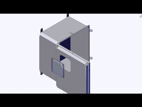Inspection/Viewing Window for NEMA 4X Enclosures