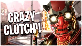 CRAZY Clutches & Amazing Plays!! (Apex Legends PS4)