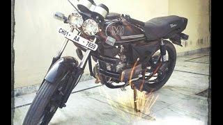 CD Delux bike modification - Rashan Sidhu