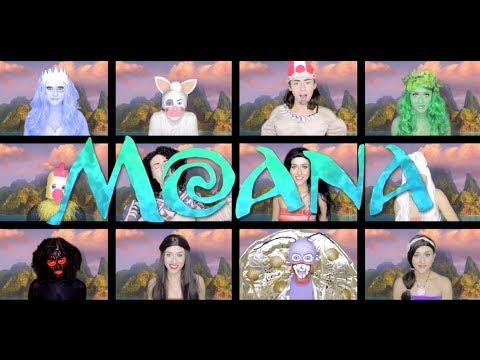 One Woman Moana Medley | Georgia Merry