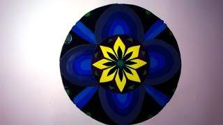 Vẽ Trang Trí Hình Tròn Lớp 7_ Trang Trí đối Xứng Qua Trục_ Decorative Circle