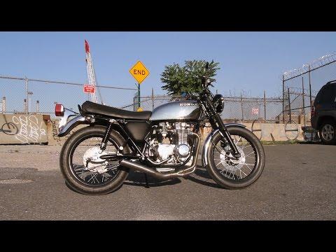 Motorcycle Restoration Part 10: Test Ride