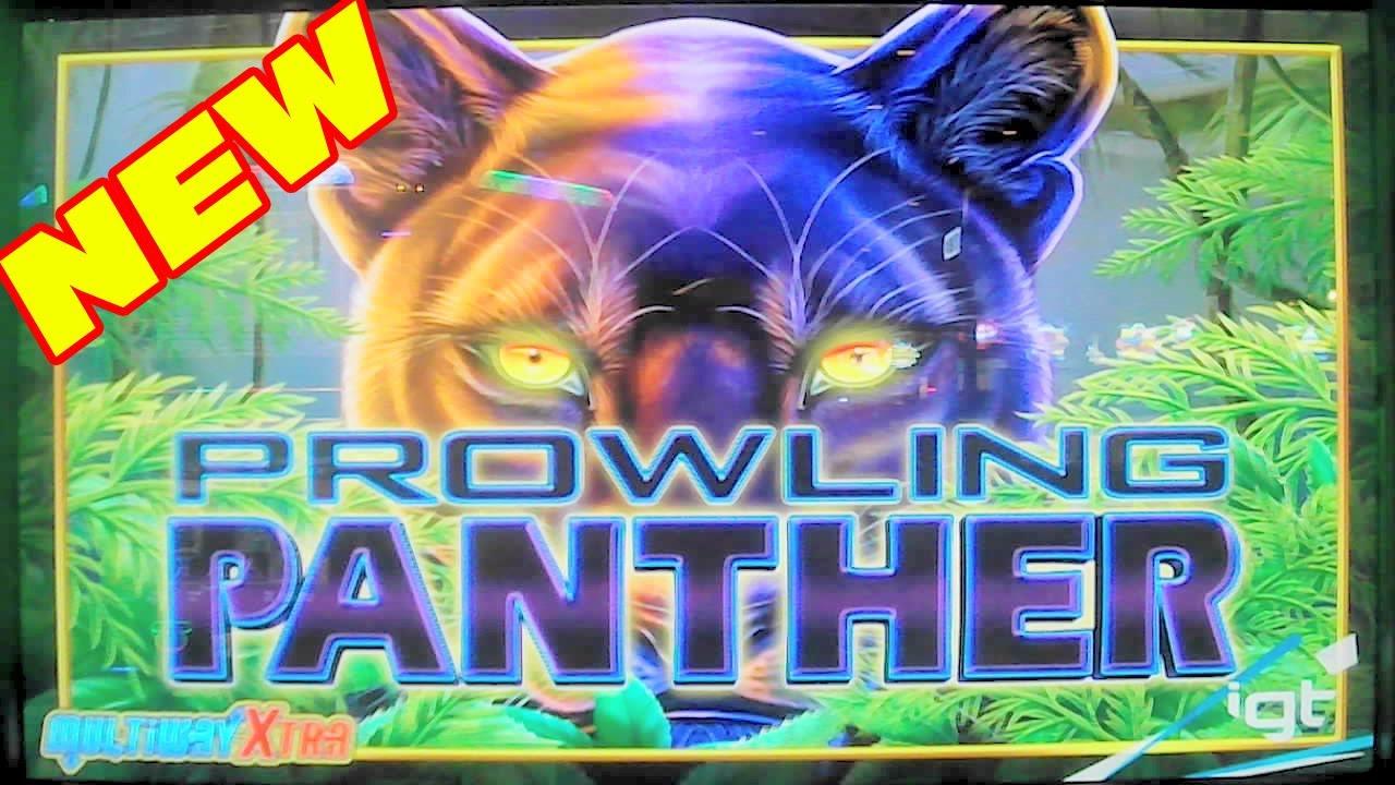 Prowling Panther Slot Machine Wins