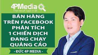 Bán Hàng Trên Facebook 2019 - Phân Tích 1 Chiến Dịch Đang Chạy Quảng Cáo