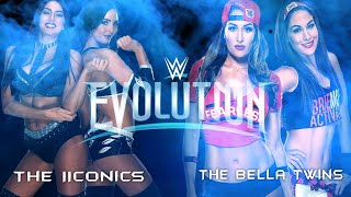 WWE Evolution: The Bella Twins vs. The IIconics (Women's Tag Team Championship)