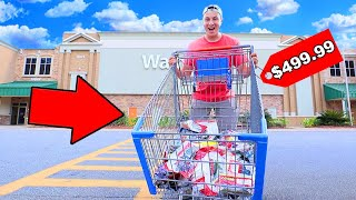 I BOUGHT EVERY Fishing Lure In WALMART! ($500)