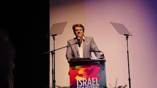 Jason Blum bashes Trump during Acceptance speech at the Israel Film Festival