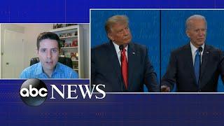President Donald Trump and Joe Biden's final debate showdown as Election Day nears