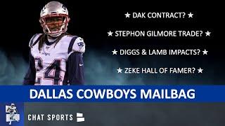 Cowboys Rumors Mailbag: Stephon Gilmore Trade? Dak Contract? Trevon Diggs & CeeDee Lamb Impact?