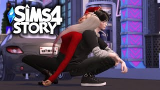 BAD GIRL AND GOOD GUY | HIGH SCHOOL LOVE STORY | SIMS 4 |