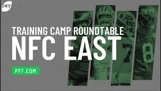 Training Camp Roundtable - NFC East | PFF