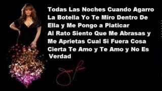 Jenni Rivera - Dos Botellas De Mezcal (Lyrics)