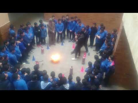 خطة اخلاء مدرسة الفيروز - ادارة المرج التعليمية