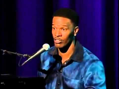 Jamie Foxx Tripping Church and Switching Up TV songs