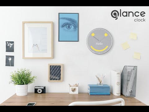 Glance Clock: See what you need. Just when you need it.