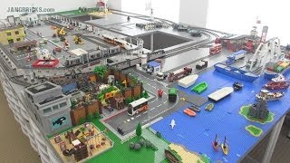 OLD Video! Updates on my channel! JANGBRiCKS Custom LEGO City update June 2014!