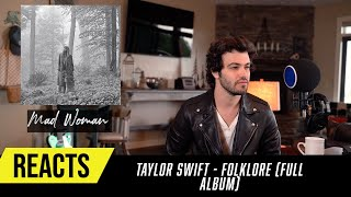 Producer Reacts to ENTIRE Taylor Swift Album  - Folklore