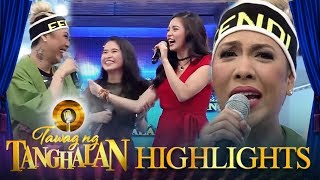 Vice feels left out as Kim and a contender talk in Bisaya | Tawag ng Tanghalan