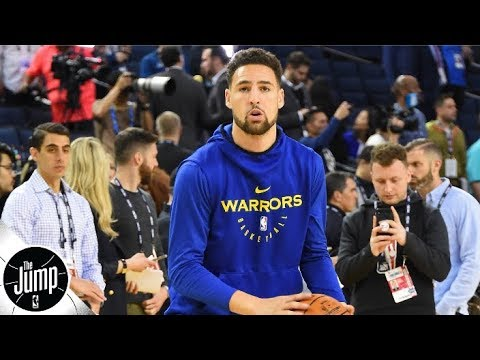 Reacting to Klay Thompson practice video: 'He looks good' | The Jump