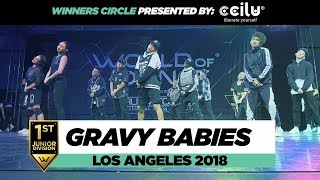GRaVy Babies | 1st Place Junior Division | Winners Circle | World of Dance Los Angeles 2018