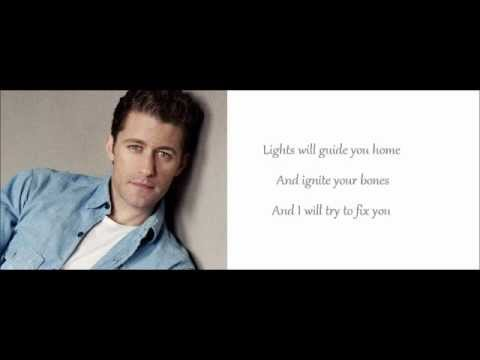 Glee Cast - Fix you (Lyrics)