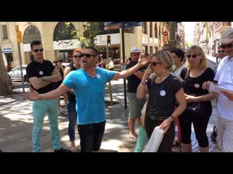 Gimcana Discovering Barcelona. Prova de cant d'Òpera