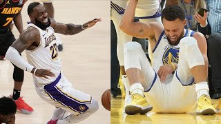 "NBA ""Injured"" MOMENTS"