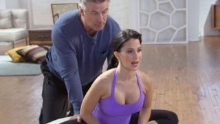 Alec Baldwin Does Yoga Video With Wife Hilaria
