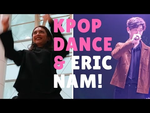 KPOP Dance and Eric Nam LIVE sa KOREA Day 4 VLOG 24