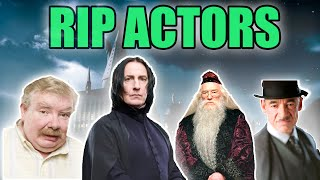 Harry Potter Actors Who Passed Away (Tribute)