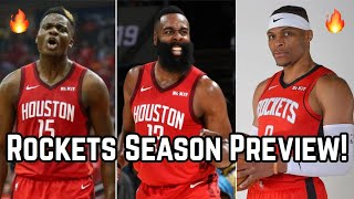 Previewing the Houston Rockets 2019-20 NBA Season & Predictions! | Russell Westbrook & NEW Roster!