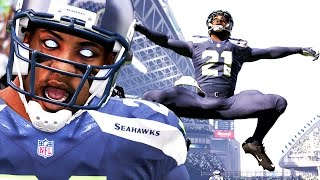 Madden 16 Career Mode Gameplay Ep. 12 - How to Bait QB & Get Interceptions! Too Many Flags