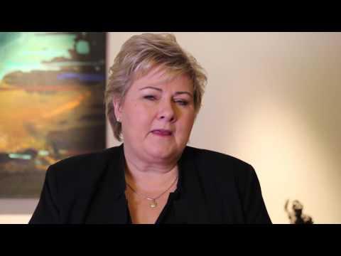 Hilsen til Sarpsborg fra statsministeren