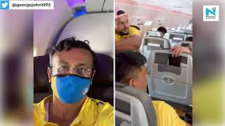 MS Dhoni gives up his business class seat for a reason dur..