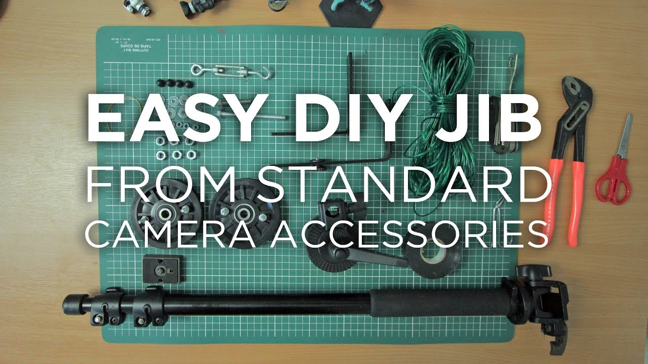 Easy DIY camera jib from camera accessories by Chung Dha ...