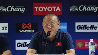 Trực tiếp buổi họp báo sau trận đấu Việt Nam vs Thái Lan
